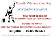 window cleaning         NOW TAKING BOOKINGS  new customers welcome.