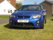 vauxhall vxr8 2007 VAUXHALL VXR8 BLUE