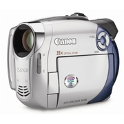 Canon DC210 DVD Camcorder with 35x Optical Zoom